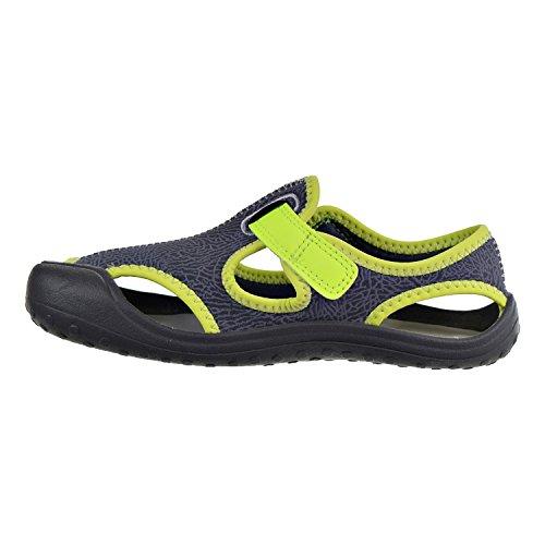 Sandalias y chanclas para ni�o, color gris , marca NIKE, modelo Sandalias Y Chanclas Para Ni�o NIKE SUNRAY PROTECT Gris Gris-Negro-Verde
