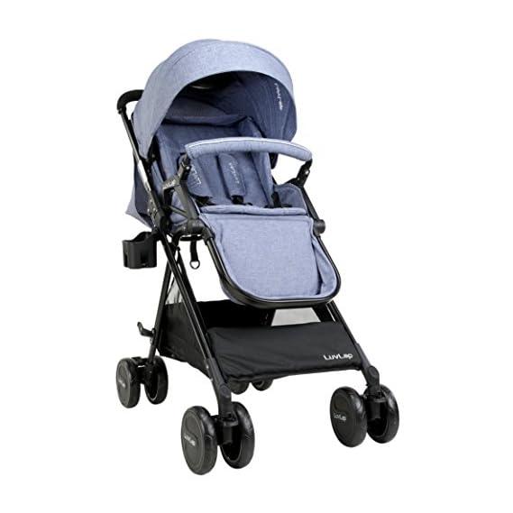 LuvLap Baby New Sports Stroller - Black