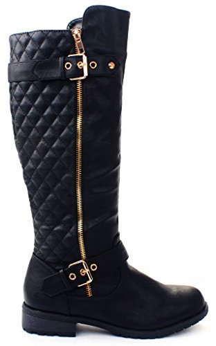 Ladies Motorcycle Riding Boots - 8