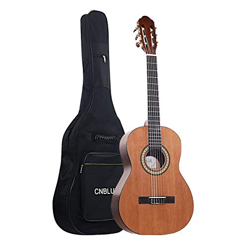 Classical Acoustic Guitar Kid 39 inch Full Size Child Beginner Rosewood Guitar Nylon Strings