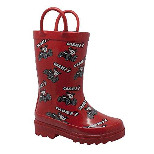 AdTec Baby CI-5001 Rain Boot, Red, 10 Medium US Toddler