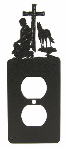 (Praying Cowboy Prayer Power Outlet Plate Cover)