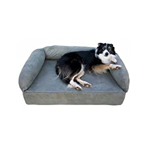 Snoozer Memory Foam Luxury Pet Sofa, Large, Navy