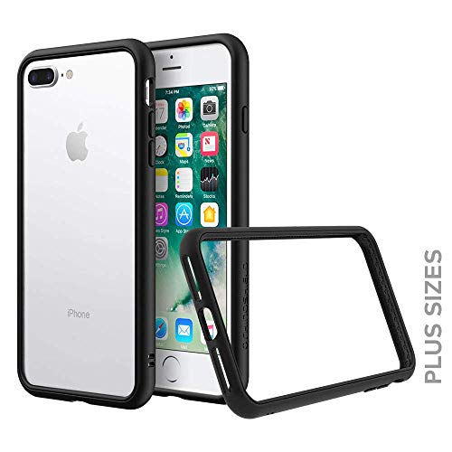 Funda Rhinoshield Bumper Para iPhone 8 Plus / 7 Plus Negro