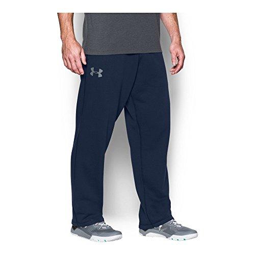 Navy Fleece Gym Pants - 4