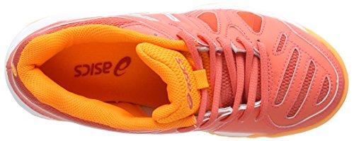 Asics Jungen Gel-Game 5 GS Tennisschuhe Orange (Coraliciouswhiteorange Pop 3001)