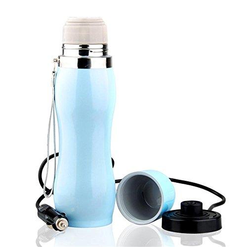Bouilloire, pour voiture Ébullition 12V24V allume-cigare chaufferette tasse isolante isolante isolante en acier inoxydable - 100 degrés