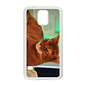 The Brown Hight Quality Plastic Case for Samsung Galaxy S5