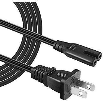 Amazon.com: Cable de impresora + 2Prong Wall Cable de ...