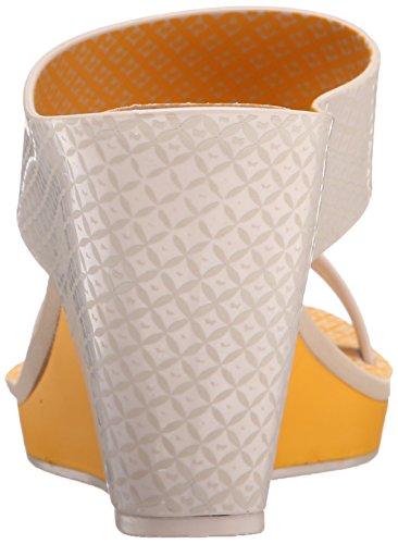 Zaxy Women's Glamour Top II Wedge Sandal Yellow afbOeIrE