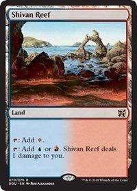 Single Shivan Reef - Shivan Reef - Duel Decks: Elves vs. Inventors
