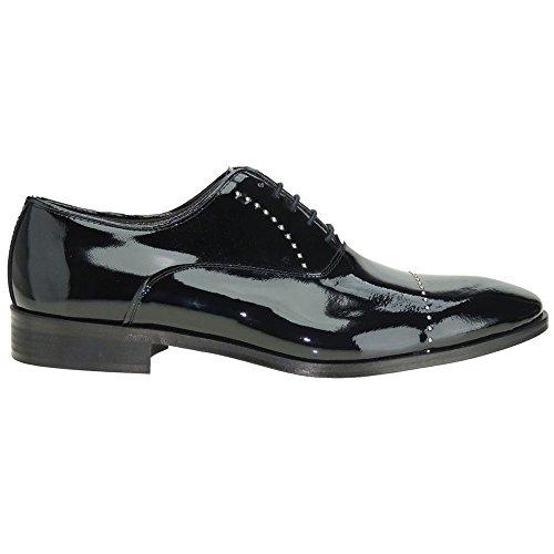 De Chaussures À Pour Noir Ville Calzados Homme Lacets Romero BEAqSy5w