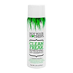 Amazon.com: Not Your Mothers Clean Freak Dry Shampoo 1.6
