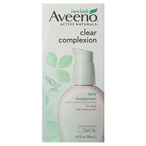Aveeno Clear Complexion Daily Moisturizer, 4 Oz (Aveeno Skin Brightening Daily Treatment Spf 15)
