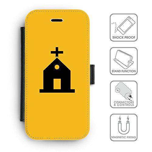 Flip PU Leather Wallet Case avec des fentes de carte de crédit // Q08460602 Religion 10 ambre // apple iphone 7 2016