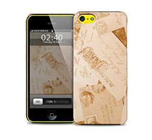 vintage letters iPhone 5c protective phone case