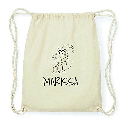 JOllipets MARISSA Hipster Turnbeutel Tasche Rucksack aus Baumwolle Design: Eichhörnchen MlRvNA0h