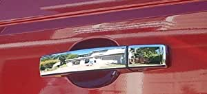 Range Rover HSE/L322 Accessories: ABS Chrome SMOOTH Door Handle Covers Set/4 2003, 2004, 2005, 2006, 2007, 2008, 2009, 2010