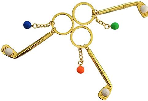 Obstschale Arbre Creative Schlüsselanhänger Ring Anhänger Golf Eisen Kopf Schlüsselanhänger Anhänger Küche Haushalt