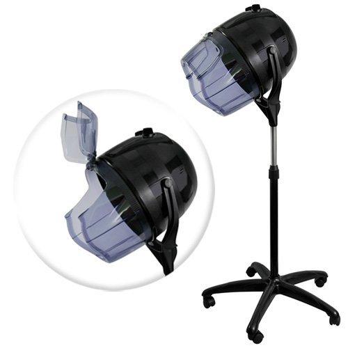 Salon Sundry Professional Bonnet Style Hood 1,000 Watt Salon Hair Dryer - Black