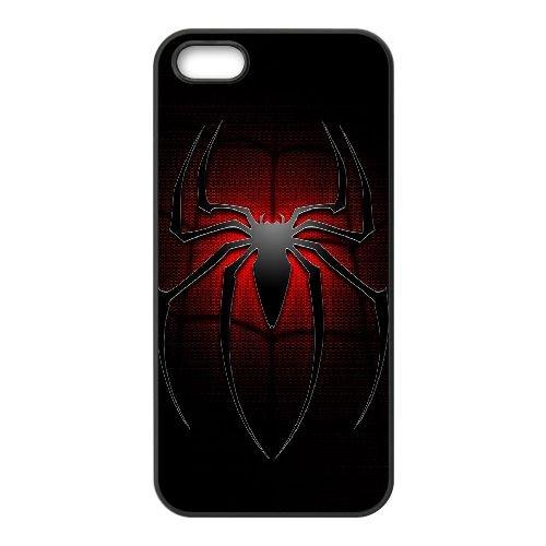 Pictures Of Spiderman 013 coque iPhone 5 5S Housse téléphone Noir de couverture de cas coque EEEXLKNBC18614