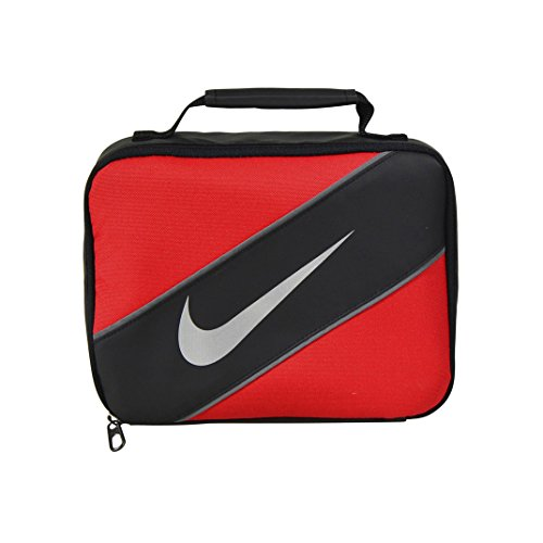 Nike Contrast Insulated Reflective Universal Red Tote Lunch Bag