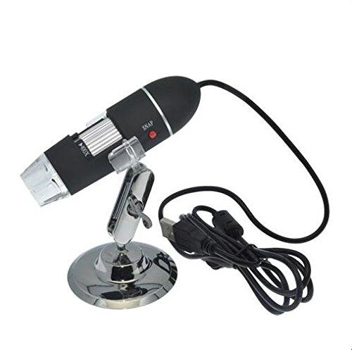 bangweierポータブルUSBデジタル顕微鏡25 x ~ 400 x倍率ミニ顕微鏡カメラ B01MTV7RZ8