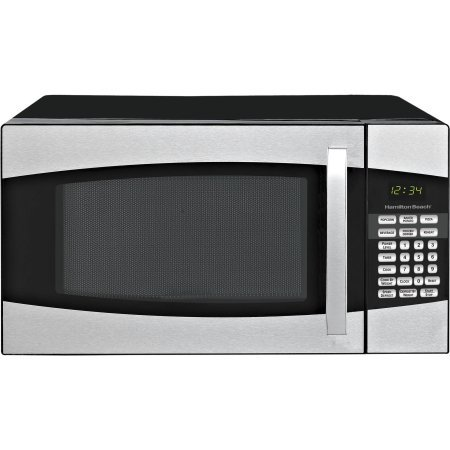 Hamilton Beach 0.9-cu. ft. Microwave Oven, Black,900 watts power/10 power levels (Small Appliances Convention Ovens compare prices)