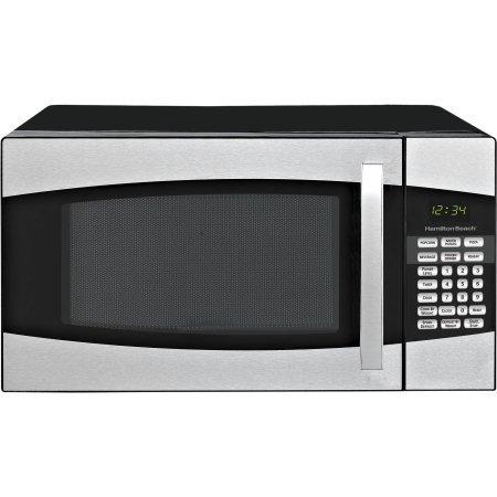 Hamilton Beach 0.9-cu. ft. Microwave Oven, Black,900 watts power/10 power levels
