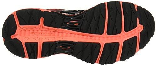 Asics Gel-Cumulus 18 G-Tx, Zapatillas de Running para Mujer Varios colores (Black / Silver / Flash Coral)