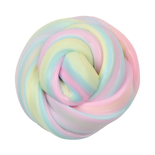 Sunny&Love 2018 Beautiful Mixing Fluffy Floam Slime Scented Stress Relief Toy Kids Educational Toy (Multicolor)