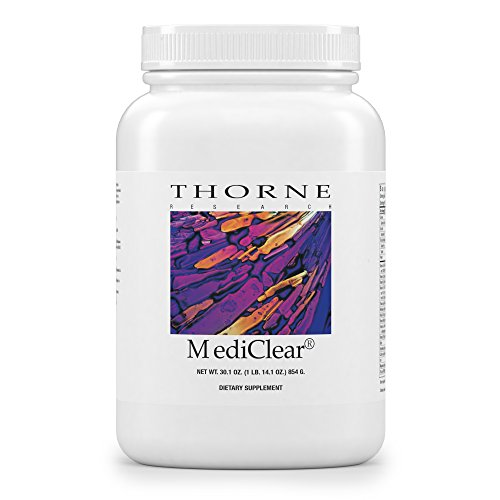 Thorne Research - MediClear - Detox, Cleanse, and Weight Loss Support - Rice and Pea Protein-Based Drink Powder with a Complete Multivitamin-Mineral Profile - 30.1 oz. by Thorne Research