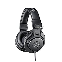 Audio-Technica ATH-M30x Professional Studio Monitor Headphones (Certified Refurbished)