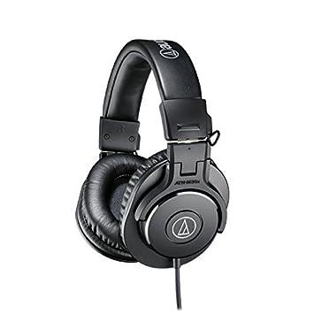 Audio-Technica ATH-M30x Professional Studio Monitor Headphones Renewed