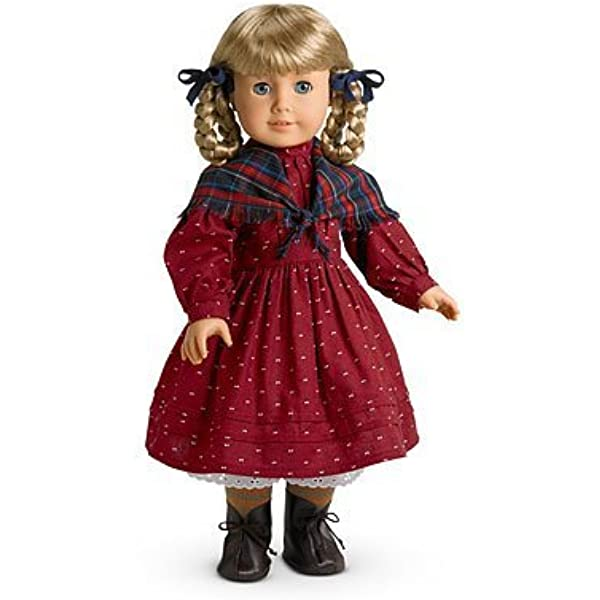 Brand New  Original Retired American Girl Kirsten Winter Outfit/'s Hair Ribbon