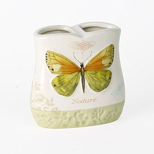 (Saturday Knight Butterfly Bliss Toothbrush Holder)
