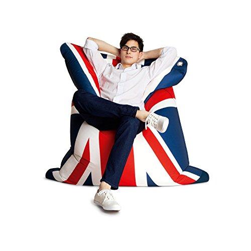 THE BULL Large Fashion Bean Bag Chair - God Save the Queen