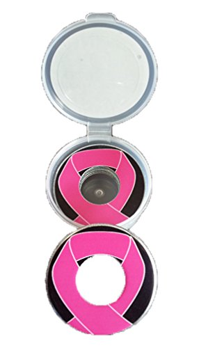 Inkin It Up Cancer Ribbon Pitching Washers W/Case by Inkin It Up