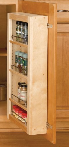 Rev-A-Shelf 51'' Pantry Door Unit Only Organizer, Natural by Rev-A-Shelf