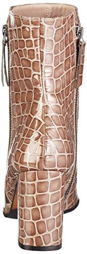 Paco Gil P3151, Stivali a metà Polpaccio con Imbottitura Leggera Donna Marrone (Braun (Topo))
