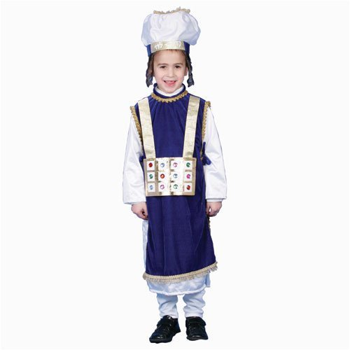 [Jewish High Priest Costume Set - Large 12-14 by Dress Up America] (High Priest Costume For Sale)