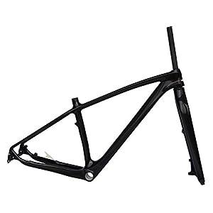 af4150f7600 Sports & Outdoors Fasteam 29er Ud Matt Carbon Fiber Mountain Bike Frame  Carbon MTB Bicycle Frame 135x9 QR ...