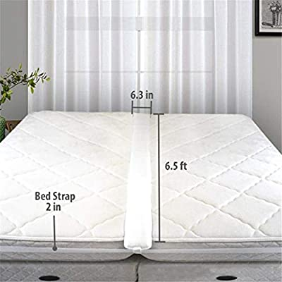 Laytmore Twin To King Bed Bridge Mattress Extender Set To Fill