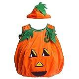 Children Orange Pumpkin Costume SS-NGY01