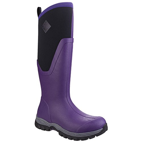 Muck Sport Ladies Black Boots Rain Pill On Tall Arctic Womens Boot Pink wgwqf1