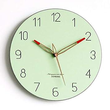 G. Medalis Reloj de Pared silencioso Reloj de Cuarzo de Pared silencioso, Decorativo para