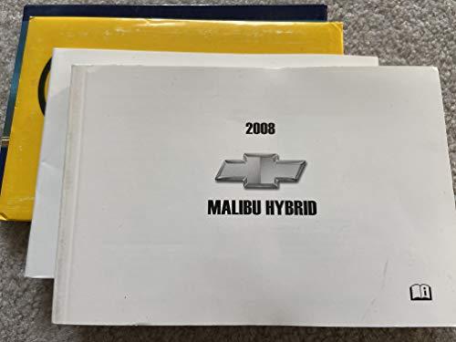 2008 Chevy Chevrolet Malibu Hybrid Owners Manual