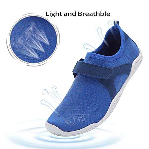 SUNNYOUNG Boys /& Girls Water Shoes Lightweight Comfort Sole Easy Walking Athletic Slip on Aqua Sock Toddler//Little Kid//Big Kid