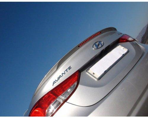 - DALLIZA Rear Trunk LED Lip Spoiler PAINTED 1-pc Set For 2011 2012 2013 Hyundai Elantra : Avante MD (N5S - Hyper Silver)