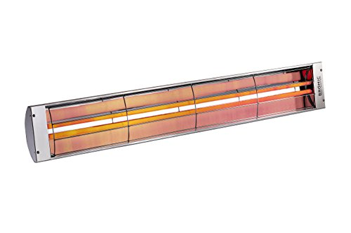 B40 220-240V 4000W Stainless Steel Cobalt Electric Radiant Patio Heater ()